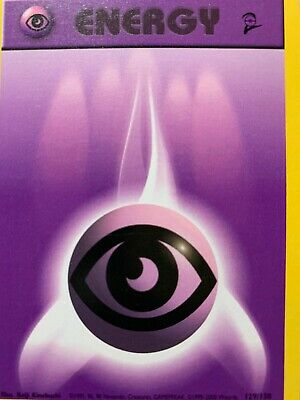 Pokemon Energy Card - Psychic Energy Base Set 2 129/130 Common New Never Played!