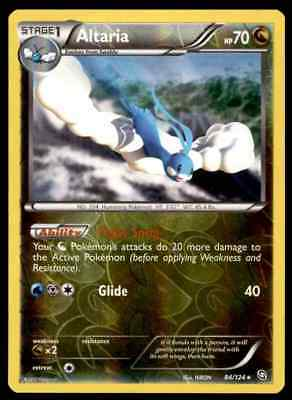 Pokemon Card Altaria Dragons Exalted Reverse Holo Rare #84/124 Near Mint