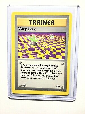 WARP POINT - 1st Edition Gym Challenge  - 126/132 - Common - Pokemon - NM