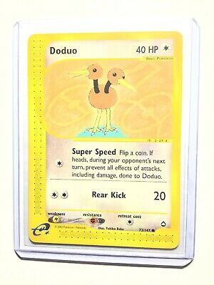 DODUO - 73/147 - Aquapolis - Common - Pokemon Card - NM