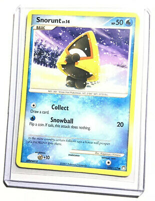 SNORUNT - 100/123 - Mysterious Treasures - Common - Pokemon Card - NM