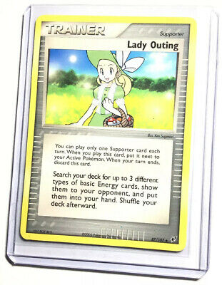 LADY OUTING - 87/107 - EX Deoxys - Uncommon - Pokemon Card - NM