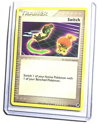 SWITCH - 83/101 - EX Dragon Frontiers - Common - Pokemon Card - NM