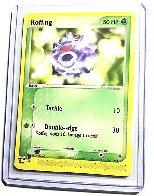 KOFFING - 54/109 - Ruby & Sapphire - Common - Pokemon Card - NM