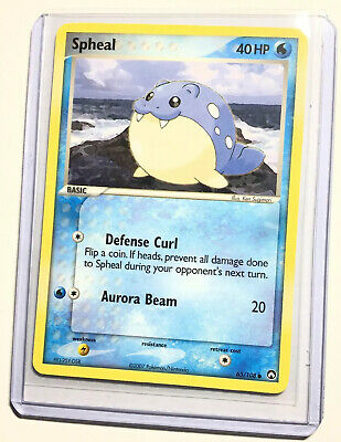 SPHEAL - 65/108 - EX Power Keepers - Common - Pokemon Card - NM