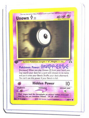 UNOWN [I] - 1st Edition Neo Discovery - 68/75 - Common - Pokemon Card - NM