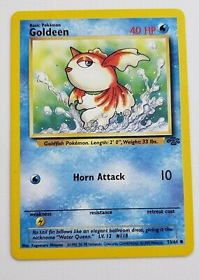 1999 Pokemon GOLDEEN Jungle Set 53/64