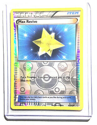 MAX REVIVE - 65/83 - XY GENERATIONS - Reverse Holo - Pokemon Card - NM
