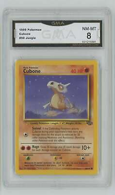 1999 Pokemon Unlimited Jungle #50 Cubone GMA 8 Nm-Mt H66