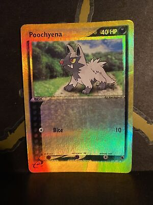 Poochyena - 63/109 - Reverse Holo - Pokemon EX Ruby and Sapphire Played