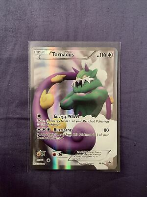 TORNADUS 98/98 Ultra Rare Full Art B&W Emerging Powers Pokemon Card BW