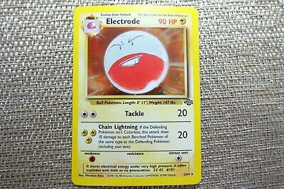 Electrode Holographic Rare Pokemon Card Jungle Set 2/64 - Great Condition