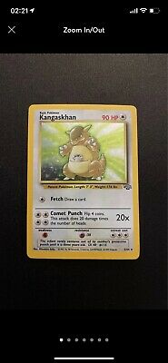 kangaskhan jungle holo 5/64 Pokemon Card