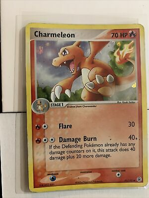 Charmeleon 31/112 Reverse HOLO EX FireRed & LeafGreen Fire Red Pokemon