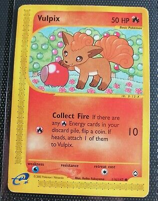 Vulpix POKEMON Aquapolis 116/147 Common HP