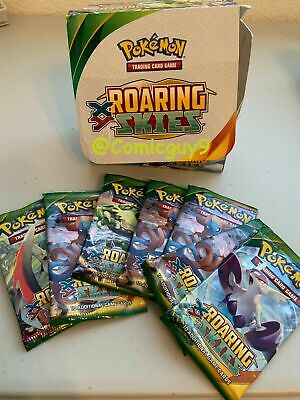 * Pokemon XY Roaring Skies Trading Cards Mint/NM Choose From List / Your CHOICE*