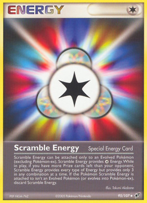 Scramble Energy - 95 - Near Mint - Deoxys - Pokemon