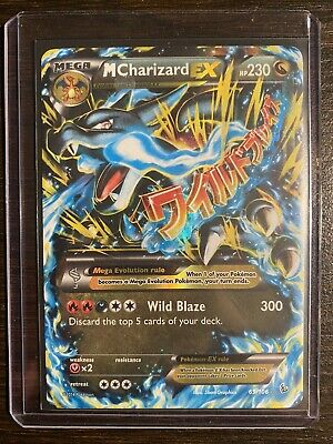 2014 Pokemon XY M CHARIZARD EX Holo Flashfire Ultra Rare 69/106 MINT