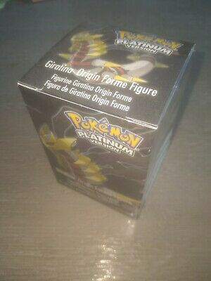 Pokemon Platinum  Exclusive Giratina Rare Promotional Figure - MARKED BARCODE.