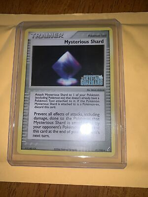 Mysterious Shard 81/100 Stamped EX Crystal Guardians Pokemon Card TCG