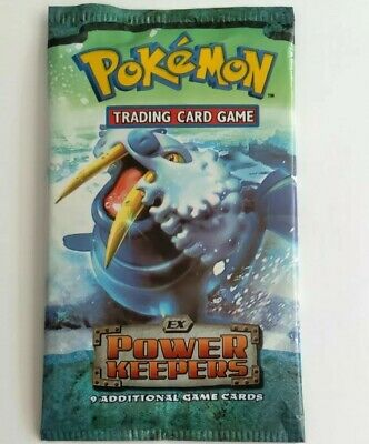 Pokemon Ex Power Keepers Sealed Booster Pack New Unopened Walrein Art