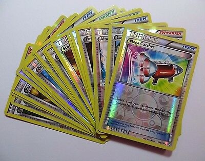 XY FATES COLLIDE - Reverse Holo Pokemon TRAINER Cards (Select your card)