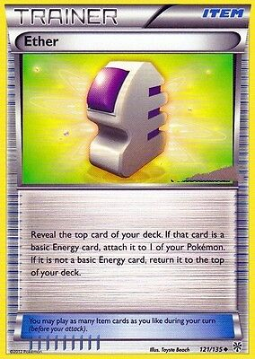 Ether 121/135 - Bw Plasma Storm Pokemon Trainer Card - In Hand!