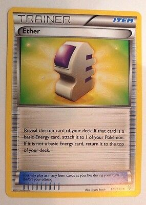 Ether 121/135 Pokemon TCG Black and White Plasma Storm Single Card