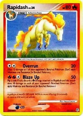 Rapidash 59/130 Diamond & Pearl Uncommon PERFECT MINT! Pokemon