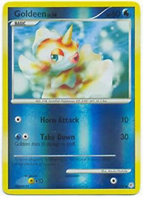 Goldeen 84/130 Diamond & Pearl REVERSE HOLO MINT! Pokemon