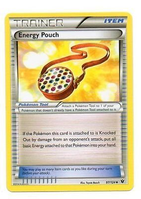 Energy Pouch Holo 97/124 Xy Fates Collide Pokemon Trainer Card