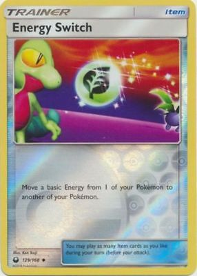 Energy Switch 129/168 S&M Celestial Storm REVERSE HOLO PERFECT MINT! Pokemon