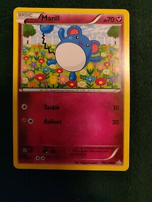Marill 102/160 - Common Pokemon Card - Primal Clash Set (2015) - NM