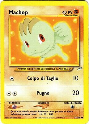 Pokemon Machop 73/105 Comune Neo Destiny