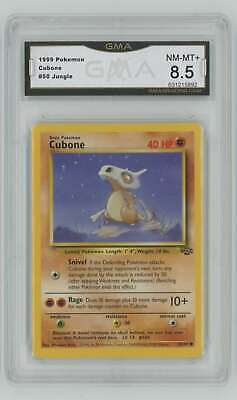 1999 Pokemon Jungle Unlimited #50 Cubone GMA 8.5 Nm-Mt+ D2