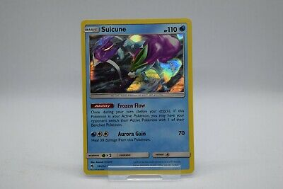 Suicune 59/214 Lost Thunder Holo Pokemon Card