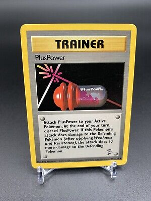 Pokemon Single Card Base Set 2 PlusPower 113/130