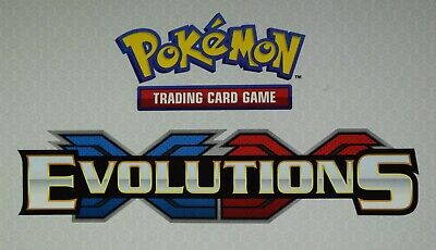 Pokemon XY Evolutions - Choose your Common, Uncommon & Rare Trading Cards