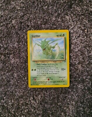Scyther 46/75 NM Neo Discovery Uncommon Pokemon Card