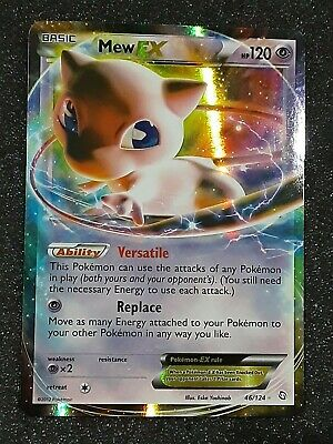 Pokemon Mew EX 46/124 - Black & White Dragons Exalted Rare Holo