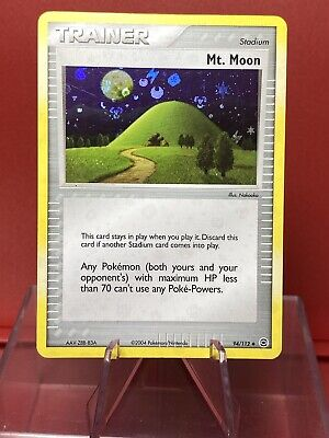 Mt. Moon 94/112 | EX - FireRed & LeafGreen | Reverse Holo | Vintage Pokemon NM