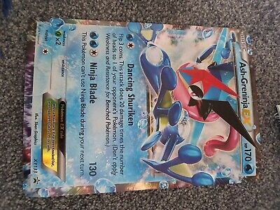 Pokemon Card Ash-Greninja XY133