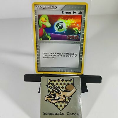 Energy Switch Holo Pokemon Card 75/108 EX Power Keepers Stamped NM