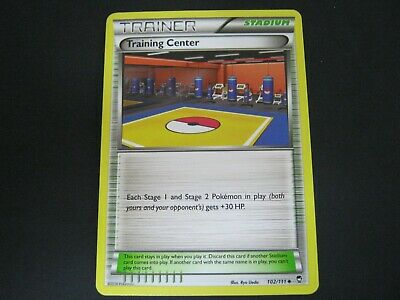 Pokemon Card Furious Fists Number 102 TRAINING CENTER