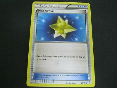 Pokemon Card Generations Number 65 MAX REVIVE