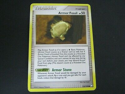 Pokemon Card Mysterious Treasures Number 116 ARMOR FOSSIL