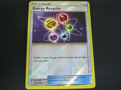 Pokemon Card Guardians Rising Holo ENERGY RECYCLER Number 123