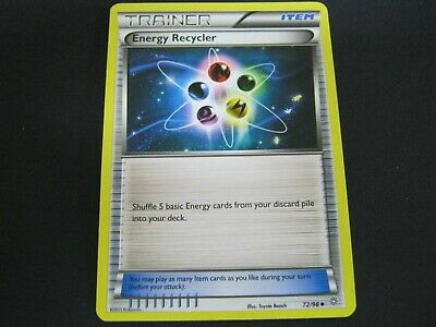Pokemon Card Ancient Origins Number 72 ENERGY RECYCLER