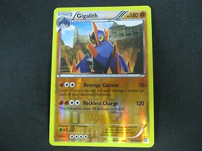 Pokemon Card (2) Dragons Exalted Holo Number 67 GIGALITH