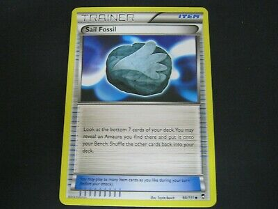 Pokemon Card Furious Fists Number 98 SAIL FOSSIL